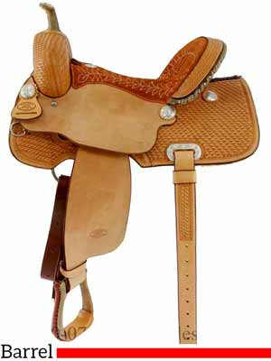 Barrel saddle for sale from Horse Saddle Shop