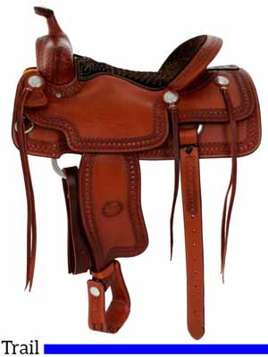 Billy Cook trail riding saddle