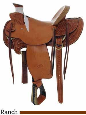 A new Billy Cook Wade saddle