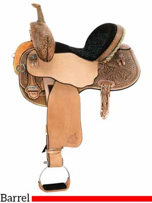 Martha Josey Hiphugger barrel saddle by Circle Y