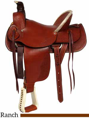 A Dakota ranch saddle