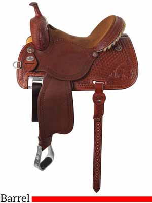 The Sherry Cervi Crown C 97-C2 Barrel saddle