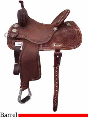The Sherry Cervi Crown C 97-C3 Barrel saddle