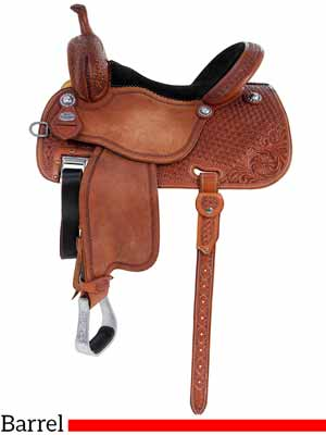 The Sherry Cervi Crown C mr97MDS Barrel saddle