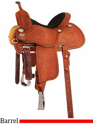 The Sherry Cervi Crown C mr97P Barrel saddle