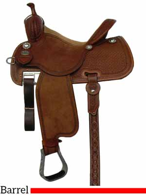 The Sherry Cervi Crown C mr97W Barrel saddle