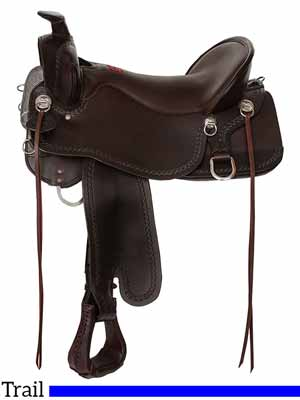 The Tucker Big Bend trail riding saddle
