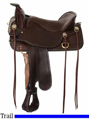 Trail saddle: The Tucker Cheyenne Frontier