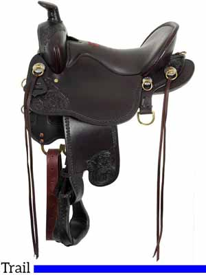 The Tucker High Plains T60 trail saddle