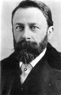 Portrait of painter Albert Bierstadt