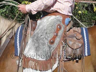 A Court's roping saddle