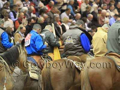 Cowboys in prayer