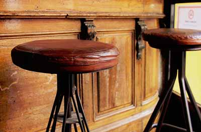 Cowhide Bar Stools For Sale