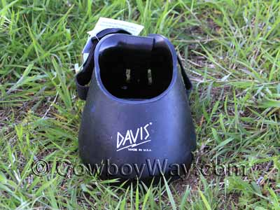 Front view Davies Barrier Boot