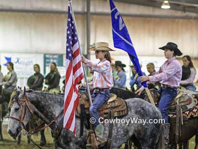 National anthem etiquette at a rodeo