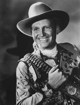 Cowboy actor and singer Gene Autry