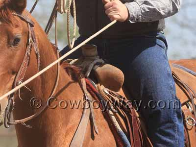 A ranch saddle that isn't a Wade