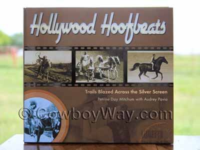 Book cover: Hollywood Hoofbeats
