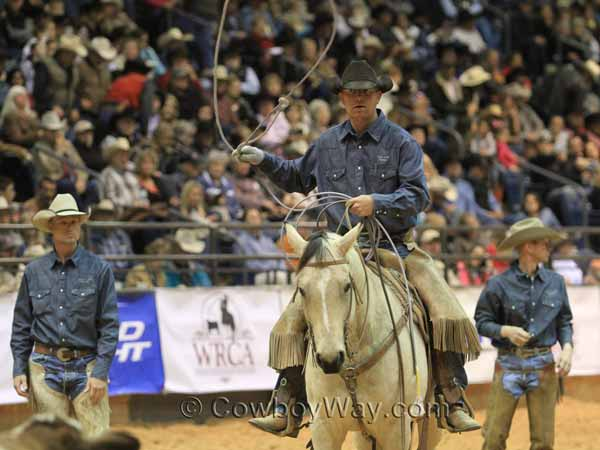 Yoder/JOD Ranches compete in the team branding