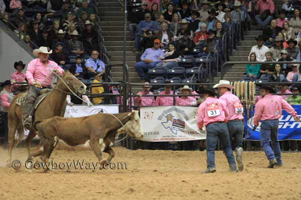 WRCA Ranch Rodeo Finals, 11-07-14 - Broken H Ranch and H Cross Ranch, wild cow milking