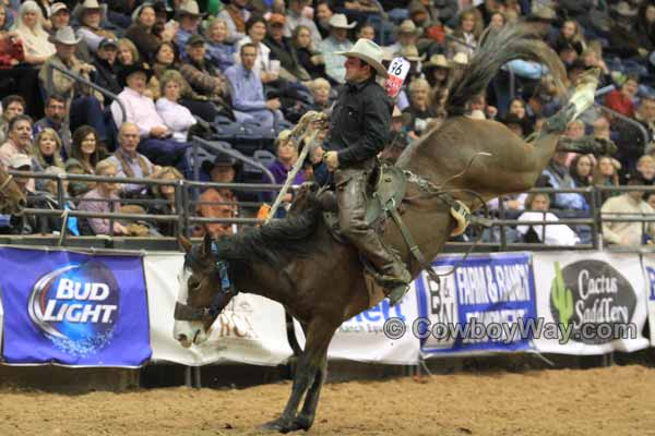World Championship Ranch Rodeo, WCRR, bronc rider Kolby Stock
