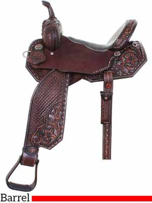 A Double J barrel saddle for expensive budgets
