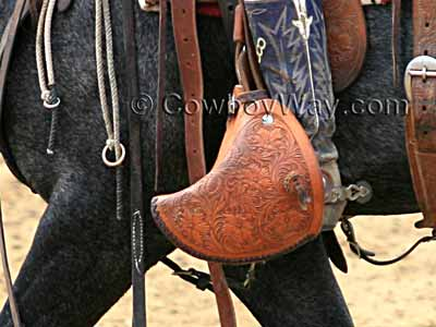 Tapaderos, a popular choice for adult and youth saddles