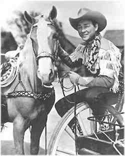 Roy Rogers and Trigger. Roy Rogers had Riders Rules for his young fans.