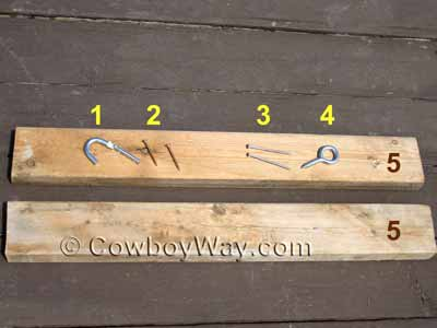 Materials To Make A Collapsible Wood Saddle Rack
