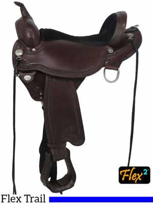 Circle Y Sheridan Trail Riding Saddle